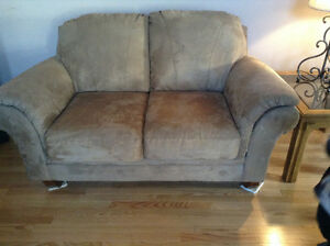 Great condition, chair and love seat couch, smoke free home Strathcona County Edmonton Area image 1