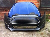 Ford Fiesta zetec s facelift 2012 2013 2014 genuine front bumper + xp body kit + bonnet