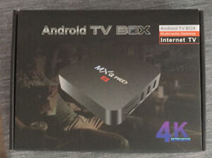 Android box 4k - brand new