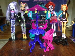 Poupée / Dolls Monster High et accessoires