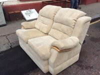 Comfy 2 Seater Sofa / FREE GLASGOW DELIVERY