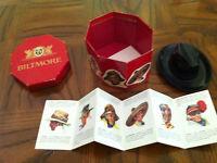 Biltmore sales-man sample box with hat