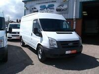 10REG FORD TRANSIT LWB MED/R 350 115BHP RWD WITH LOW 31000 MILES CHOICE OF 3