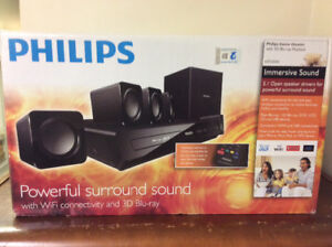 Philips Home Theater w / 3D Blu-ray