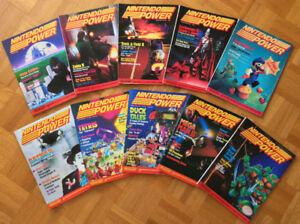 Collection de magazines Nintendo Power