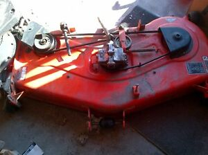 Kubota mower deck and bagger for sale very good condition