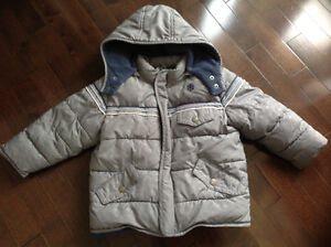 OLD NAVY TODDLER BOYS WINTER COAT - SIZE 2