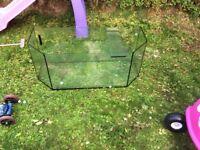 Fish tank no lid