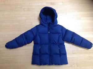 Lands' End jacket with 80% down 20% feather insulation size 5-6