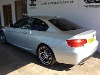 2013 BMW 3 Series 3.0 330d M Sport 2dr Diesel silver Automatic