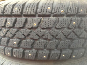 Arctic claw studded tires