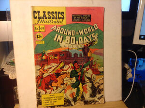 Vintage Classics Illustrated AROUND THE WORLD IN 80 DAYS No. 69