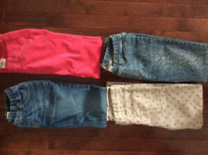 FS girls size 10 Oshkosh pants, $7 each
