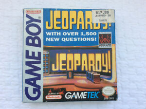 Jeopardy (Nintendo Game Boy - 1990) - complete / excellent cond
