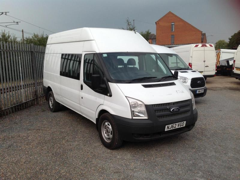 Ford Transit 2.2TDCi 125 ps 9 seater work van 2012