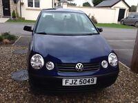 2003 Volkswagen Polo 1.9 SDI * Full service History * 60mpg* Cheap to insure *