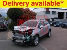 2018 Vauxhall Mokka X Design Nav Ecotec 1.4 DAMAGED REPAIRABLE SALVAGE