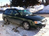 2001 Subaru legacy wagon - SOLD!! Thanks!