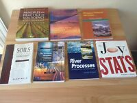 Geography BSc Textbooks