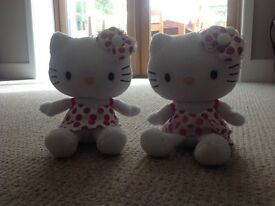 Hello Kitty cuddly toys
