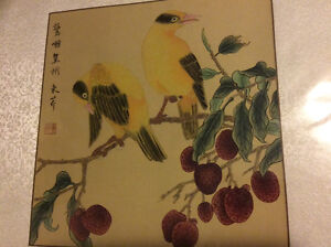 Authentic Chinese Color (Still Life) Paintings London Ontario image 4