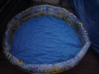 Children's paddling pool