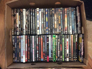 Lot of DVDs, some seasons