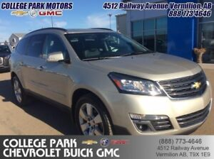 2014 Chevrolet Traverse LTZ  heat  cool seats, heated steering w