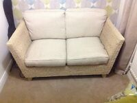 M&S Bermuda conservatory double sofa