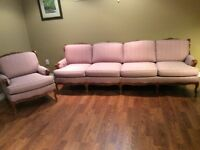 Beautiful French Provincial Sofa and Chair