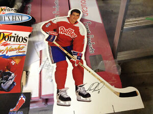 NHL and NFL Lays Cardboard cut-out collectablies Stratford Kitchener Area image 3