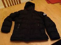 Black boys puffer jacket from House of Fraser Tog 24 Brand size age 11/12
