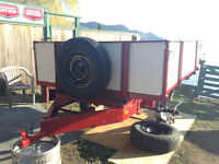 6 ft by 8 ft utility trailer