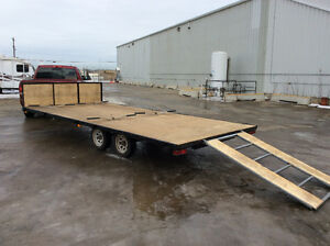 4 Place sled trailer /4 Place quad trailer, light weight.