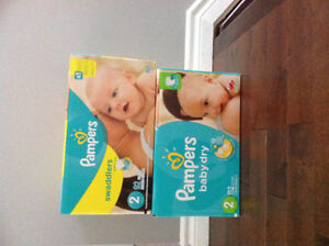 Pampers diaper size 2