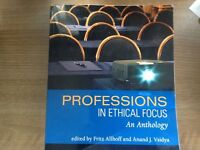 Professions in ethical focus An Anthology by Fritz Allhoff