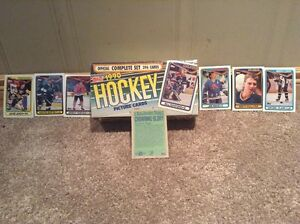 1990 Topps Hockey cards -Complete set and in original box