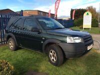 Ex Police Land Rover Freelander SWB Light 4x4 Utility Vehicle VGC