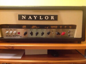 AMPLI NAYLOR DUEL 60 HD SHOWROOM CONDITION