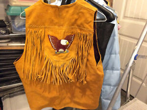 REDUCED!  REDUCED!,   NATIVE AMERICAN BEADED VEST Prince George British Columbia image 3