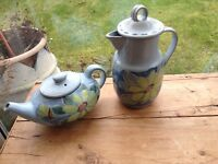 Buchan portobello finest stoneware teapot and coffee pot