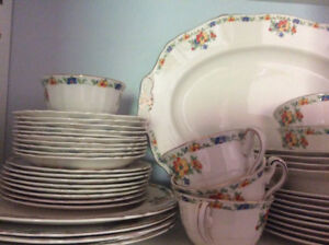 Set of Dishes by Alfred Meakin - Service for 12