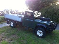 Land rover defender 130 lwb truck 2.5 td 1990 g reg