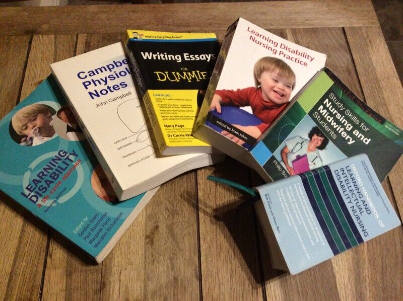 Learning disability nursing study books