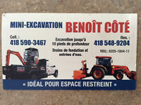 Mini-excavation Benoit côté inc.
