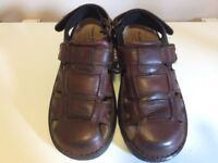 A Pair Off Hush Puppy Men Summer Sandles