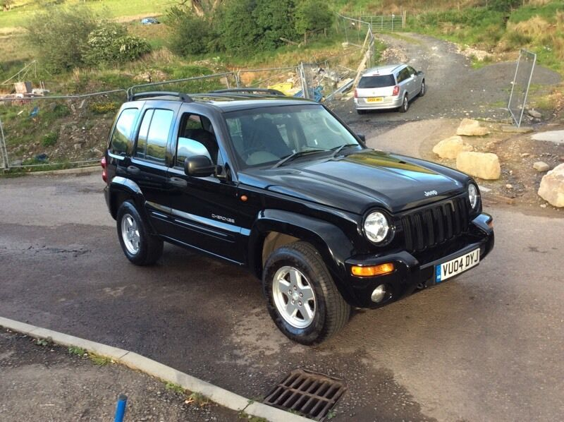 2004 jeep Cherokee limited CRD diesel