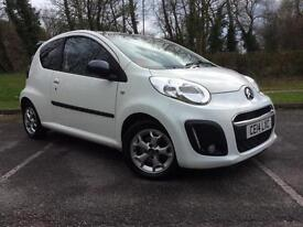 Citroen C1 1.0i ( 68bhp ) 2013MY Platinum New Mot Free Road Tax Cheap Small Car