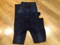 3 pairs Women's NEXT Jeans size 14L Boot Cut