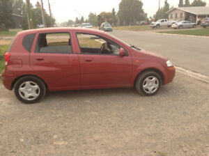 2004 Chevrolet Aveo Hatchback $2300 OBO * Price Reduced*